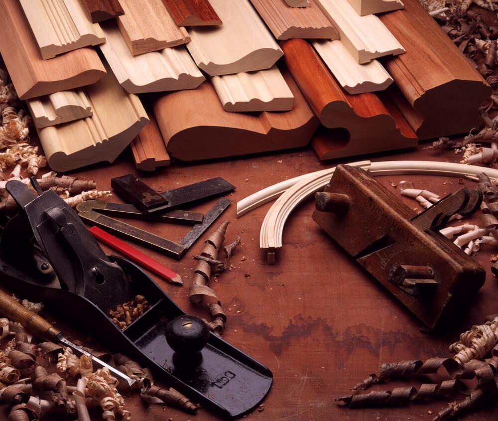 Custom hardwood mouldings and trim