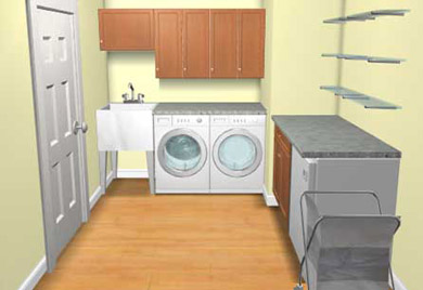 Call Records Custom Cabinets Today For All Your Laundry Cabinetry Needs In The Wichita Ks Metro Area