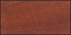 Mahogany wood sample