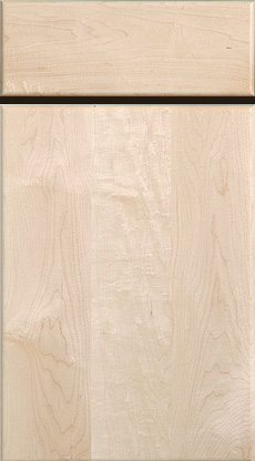 Solid Slab Door And Drawer (Hard Maple)