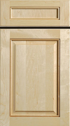 Beaded Raised Panel Door And Drawer Front Hard Maple