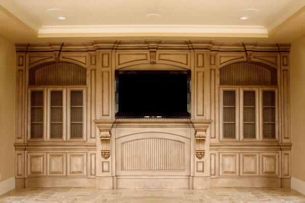 beautiful entertainment centers