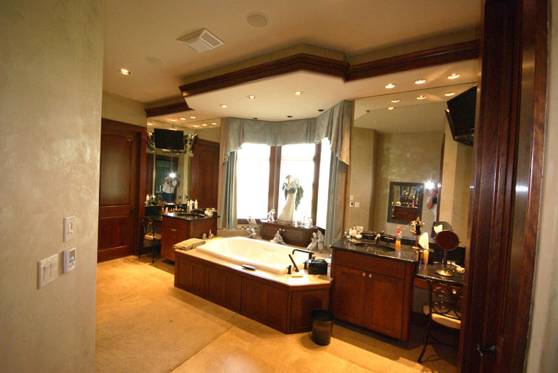 Photo gallery of luxury bathroom vanity designs records cabinets Home bar furniture wichita ks
