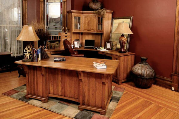 carpenter buitin cabinets office