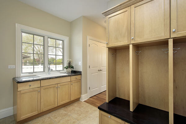 custom build laundry rooms