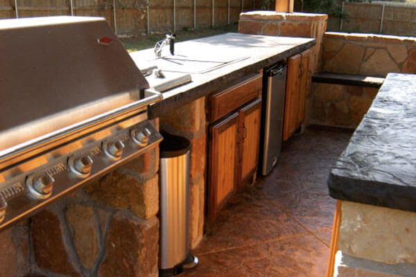 Custom outdoor cabinets custom outdoor kitchen cabinets wichita ks Home bar furniture wichita ks