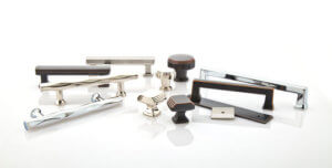 Quality cabinet pulls and knobs from Emtek available through Records Cabinets